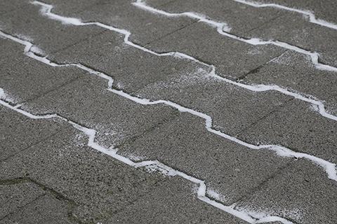 Salt drawing (detail)